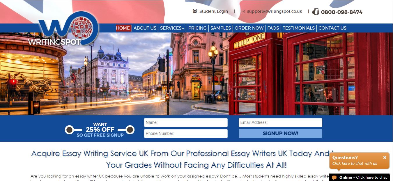 writingspotcouk review  top uk essays writingspotcouk  review